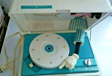 New listing Walt Disney Mickey Mouse Record player Vintage 70s Ge General Electric Used