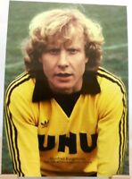 Manfred Burgsmüller + Fußball Rekord Torjäger Dortmund Fan Big Card Edition C12