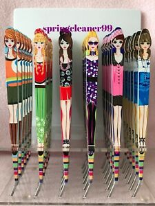 FASHIONISTA TWEEZERS ~ TRENDY ~ 6 FUNKY FEMALE DESIGNS ~ 150mm ~ COLLECT ALL !