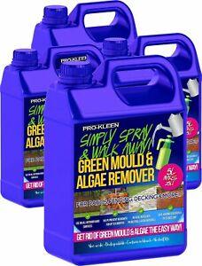 ProKleen Patio Cleaner Mould Algae Moss Killer Fluid 25% Stronger Drive Decking