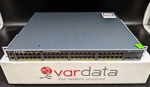 Cisco Catalyst WS-C2960X-48LPD-L 48 Port Gigabit Ethernet PoE Switch
