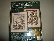 Elsa Williams Cross Stitch The Seasons: Winter and Summer Kit