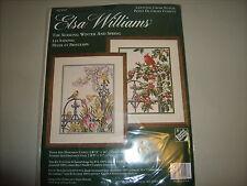 Elsa Williams Cross Stitch The Seasons: Winter and Summer Kit