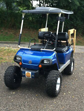 YAMAHA G22 LIFTED (GAS) 4 SEATER GOLF CART