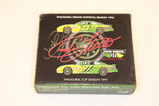 New 1997 Revell John Deer Tin w/ Diecast NASCAR Chad Little Autographed