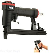Air Pneumatic Staplers T50 Staple Gun Upholstery Wire Framing Fine Stapler Tool