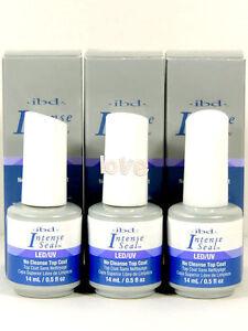 IBD INTENSE SEAL LED/UV Gel Top Coat 14ml/0.5fl.oz / Choose Any