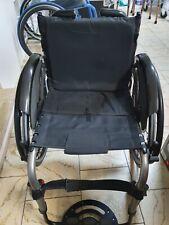 Rollstuhl Argon 2 mit Spinergy Antriebsrädern neue Lenkräder Spinergy Farben