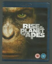 RISE OF THE PLANET OF THE APES - UK BLU-RAY