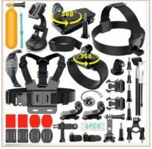 GoPro HERO 8 Black Action Camera Accessories Kit 2; Go Pro Hero 7/6/5 (50 in 1)