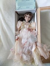 Duck House Limited Edition Hand Crafted Victorian Doll Kim With COA NIB