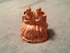 Lovely Vintage Pale Pink Courting Couple Planter