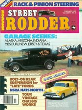 1982 Street Rodder Magazine: Lynn Moore's Express/Rack & Pinion Steering/Chassis