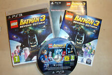 SONY PLAYSTATION 3 GAME LEGO BATMAN 3 BEYOND GOTHAM +BOX +INSTRUCTIONS COMPLETE