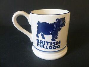 Emma Bridgewater * BRITISH BULLDOG * 1/2 Pint Mug * 2ND *