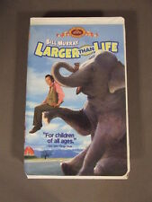 LARGER THAN LIFE FAMILY TREASURE VHS WITH BILL MURRAY