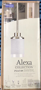 Progress Lighting Alexa 1-Light Brushed Nickel Mini Pendant