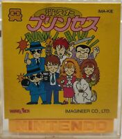 Nintendo Famicom Disk System Kieta Princess Japan Version US Seller