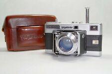 Voigtländer Vitessa L 50mm f2 Ultron lens + UV Filter + Leather case