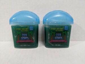 Discontinued California Scents Gel Cool Scents Laguna Breeze Car Air Freshener