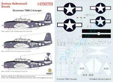 Techmod 1/48 Grumman TBM-3 Avenger # 48067