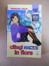 CILIEGI IN FIORE  Hojo World Vol.2 Tsukasa Hojo Star Comics  [G714]