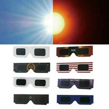 10Pcs Solar Eclipse Glasses Sun Shades Oaks Optical Pole Total Solar Eclipse