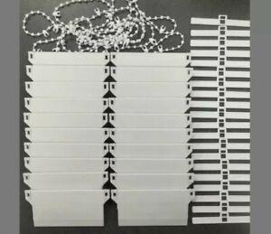 VERTICAL BLIND BOTTOM WEIGHTS 89mm BOTTOM STABILISING CHAIN, REPAIR/SPARE PARTS