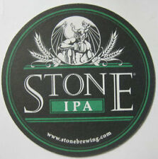 "CA 4/"" #109 V1.1 Hop Fanatics Lot of 5 Stone IPA Ale coasters-Stone Of Escondido"