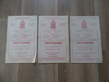 More details for 3 x chelmsford programmes 1951 southern league guildford hastings kidderminster