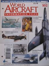 World Aircraft Information Files Issue 102 Grumman EA-6 Prowler cutaway & poster