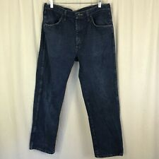 Rustler Men's dark wash boot cut jeans size 34 X 30