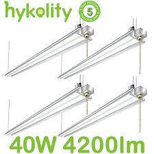 4Ft 40W LED Shop Garage Hanging Light Fixture 4200lm 5000K Daylight White 4 Pack