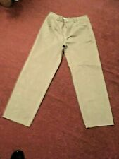POLO WORLD RALPH LAUREN  TROUSERS  MUSHROOM   33'' WAIST 30'' LEG