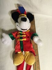 RARE Disney Bean Bag Plush MICKEY 100 Years Of Magic WALT DISNEY WORLD