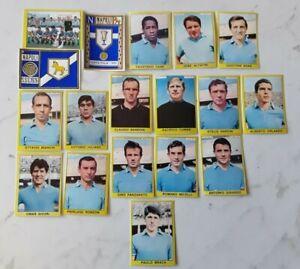 FIGURINA CALCIATORI PANINI 1966-67 NAPOLI COMPLETA MENU A TENDINA  5P13I