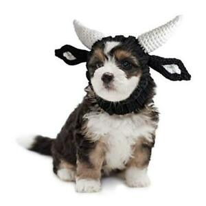 Bull Dog Costume - Neck and Ear Warmer Hood for Pets Small (Pack of 1)