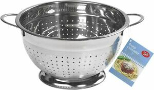 Tala Stainless Steel Extra Deep Colander Rust Proof Silver