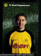 Sead Kapetanovic Borussia Dortmund 2001-02 TOP AK +A53353 OU