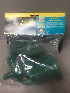 Flood Light Holder Kit with Ground Stake and Rubber Gasket New in Pack