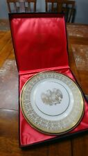 Us Bicentennial Society Double Eagle Plate With Box Limited Edition of 5000