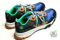 Timberland Men's Size 12 Garrison Trail Sneakers Shoes Low Black Mesh Blue A248Q