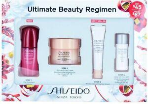 Shiseido Ginza Tokyo Ultimate Beauty Regimen 4pc Set~ WrinkleResis24