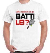 """T-Shirt scherzosa """"BATTI LEI"""" - FANTOZZI e FILINI - ANNI 80 - idea regalo Natale"""