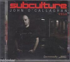 John O 'Callaghan-subculture 2010 (2 CD, nouveau)
