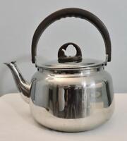 VTG Alain Delon Paris Large Teapot Kettle Holds 5 Q Made in Paris RARE SS