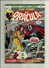 TOMB OF DRACULA #8 1973  MARVEL COMIC  BRONZE AGE HORROR COMIC BOOK   NICE