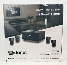 Daneli Acoustics Hd-67 5.1 Home Theater System New in opened box
