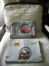 DISNEY PIXAR CARS GRAY LIGHTING MCQUEEN PISTON CUP TWIN FLAT / FITTED SHEETS