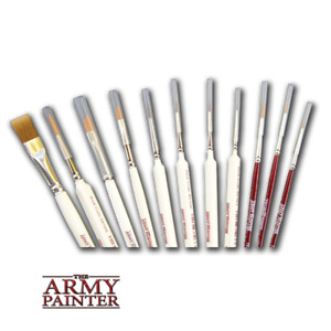 The Army Painter Wargamer Paint Brush for RPG Miniatures - Choose Your Brush